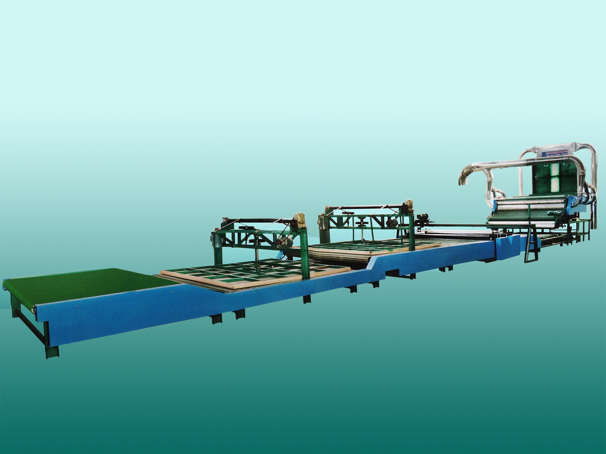 MT-2000A型 铺网型全自动被套(胎)成型机