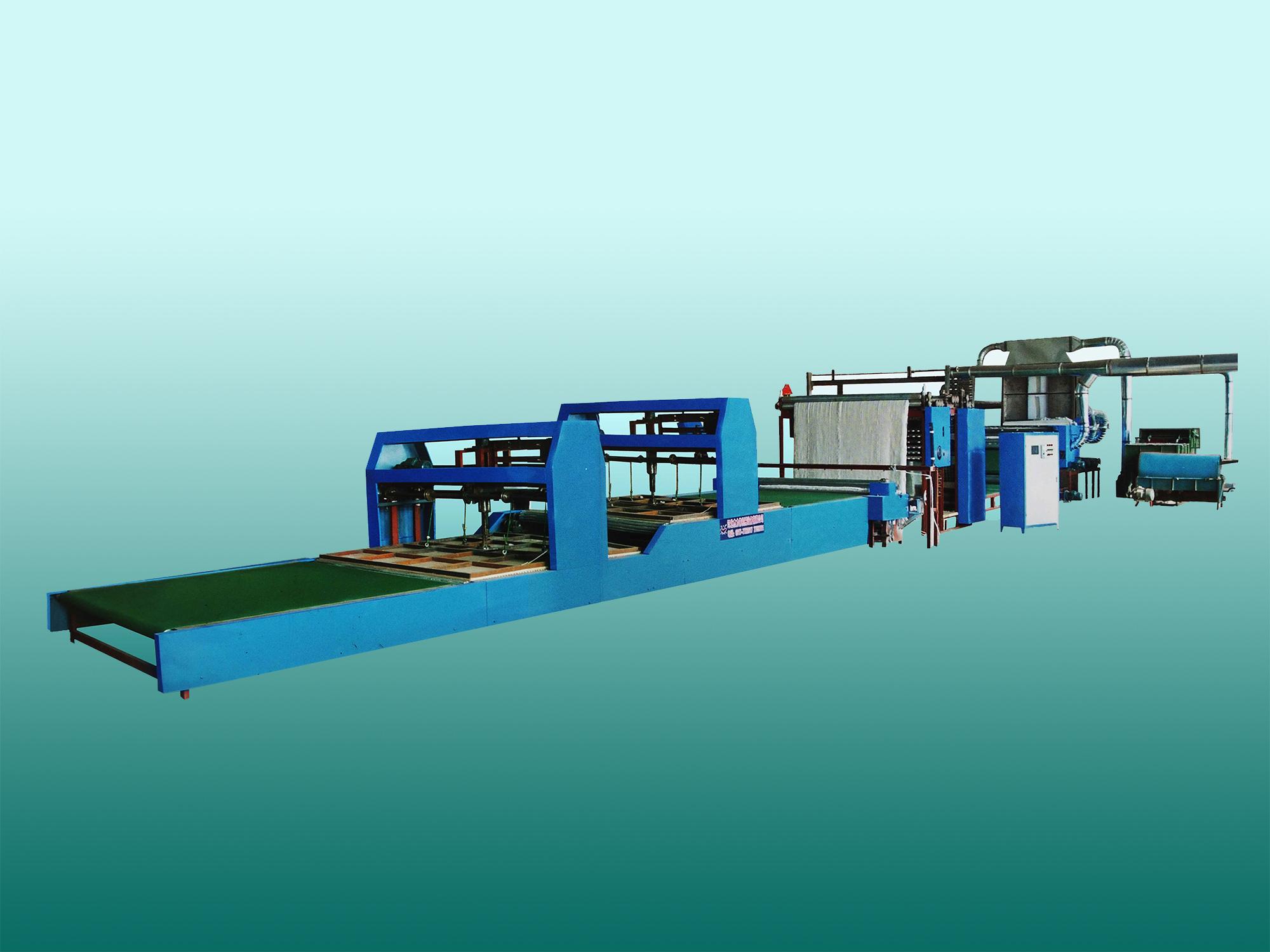 MT-2000B型 织网型全自动吸尘被套成型机流水线(被褥生产线)